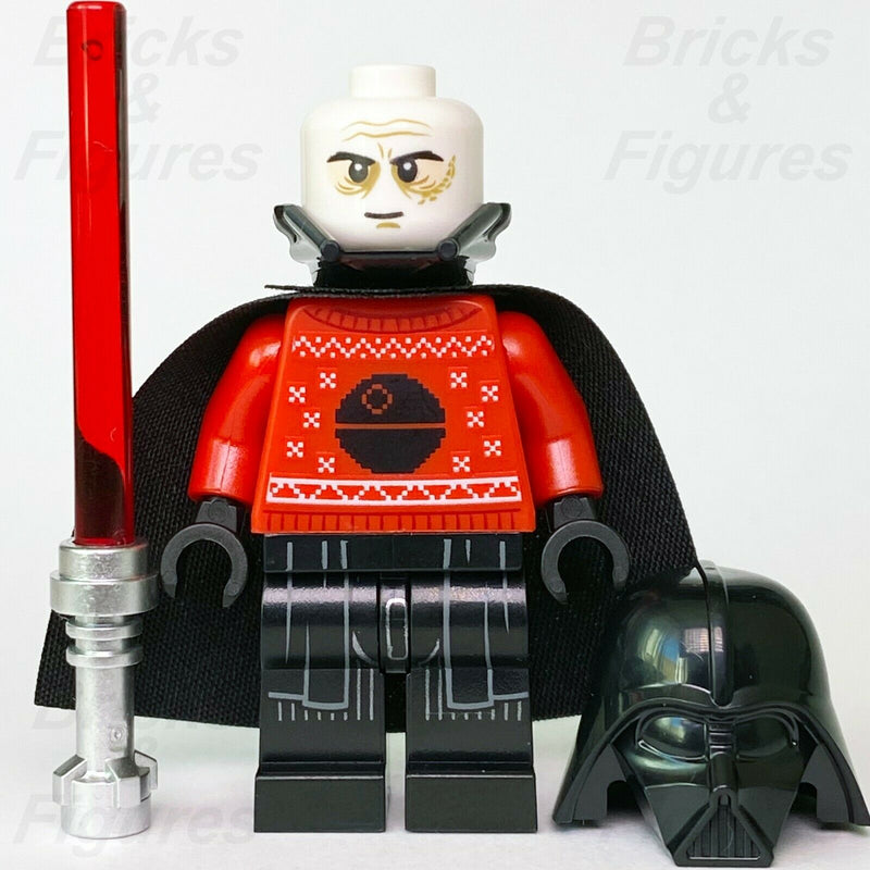 Star Wars LEGO Darth Vader with Christmas Sweater Death Star Minifigure 75279