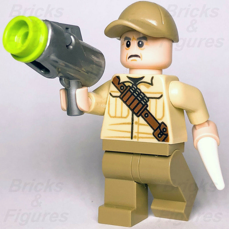 New Jurassic World LEGO Ken Wheatley Minifigure from sets 75928 75930 Genuine - Bricks & Figures