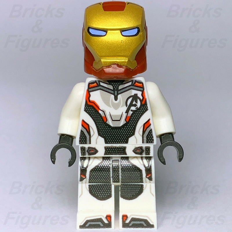 New Marvel Super Heroes LEGO Iron Man Avengers Suit Minifigure 30452 Endgame - Bricks & Figures