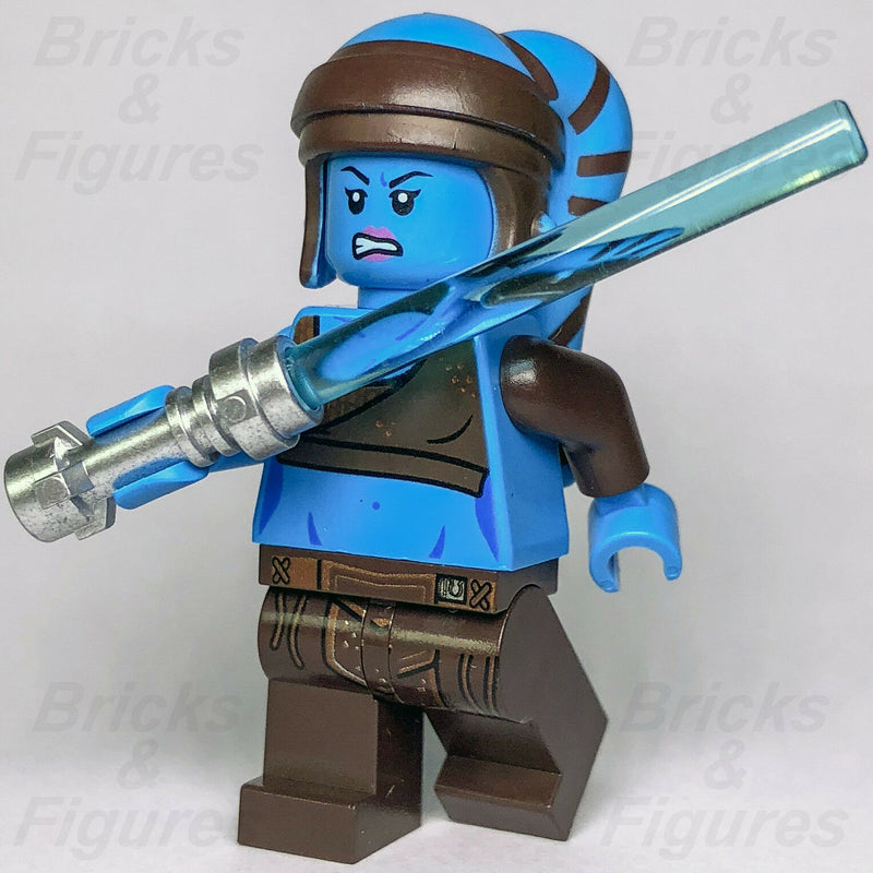New Star Wars LEGO Aayla Secura Jedi Master Clone War General Minifigure 75182 - Bricks & Figures