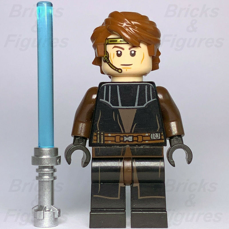 Star Wars LEGO Anakin Skywalker Jedi Pilot General Clone Wars Minifigure 75214 - Bricks & Figures
