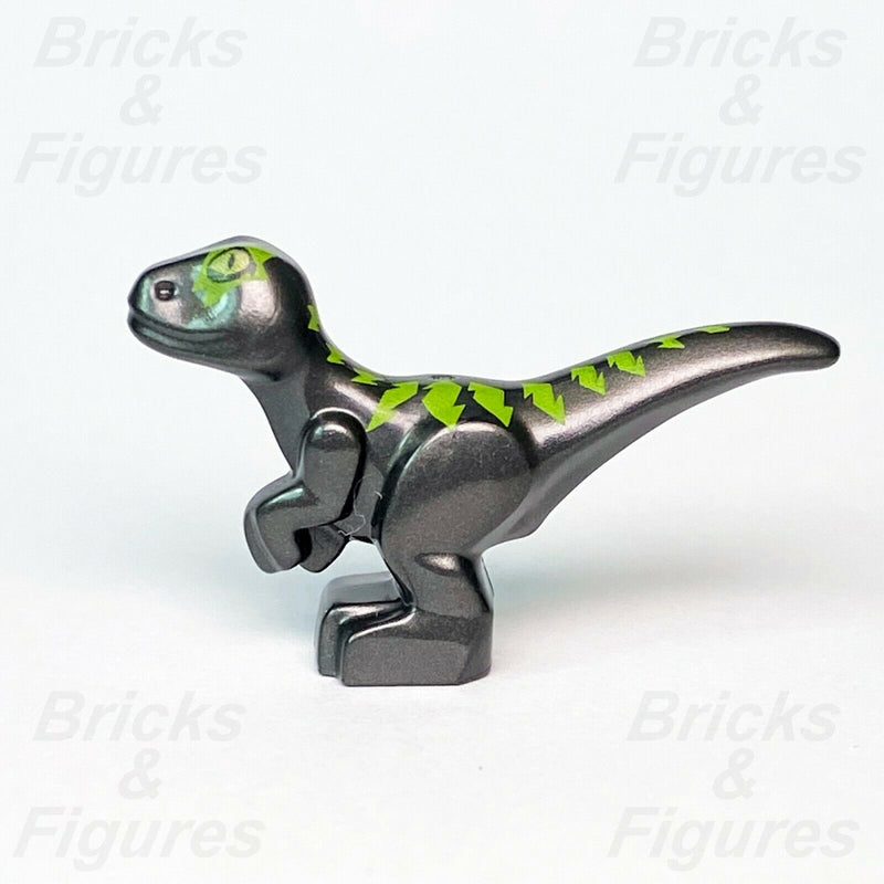 New The LEGO® Movie Dark Grey Baby Raptor with Lime Markings Dinosaur 70839
