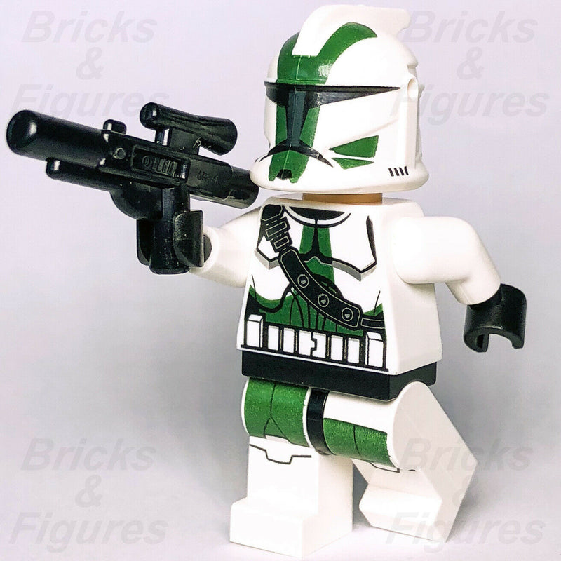 New Star Wars LEGO 41st Elite Corps Commander Gree Clone Trooper Minifig 9491 - Bricks & Figures