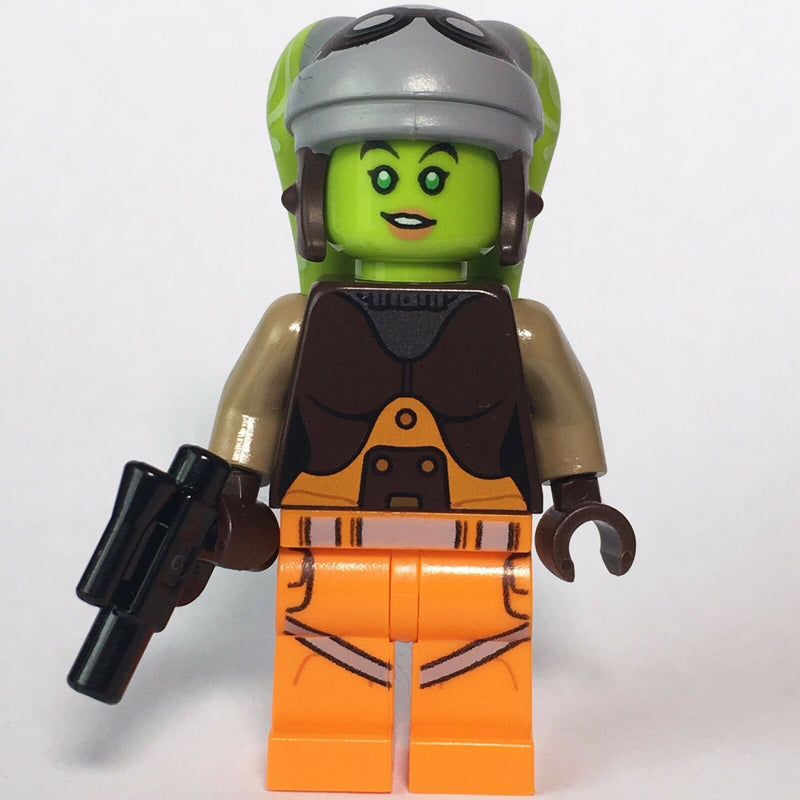 STAR WARS lego HERA SYNDULLA rebels captain GENUINE 75053 75127 NEW with blaster - Bricks & Figures
