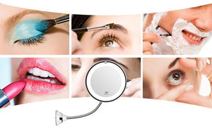Lighted LED Magnifying Mirror