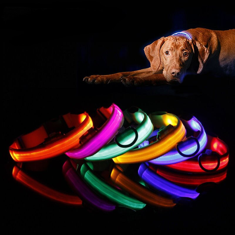 GlowBling LED Dog Collar