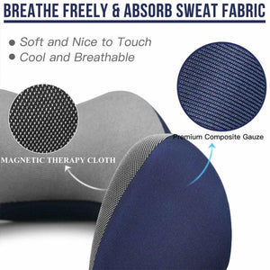 cozy memory foam u-shaped neck pillow