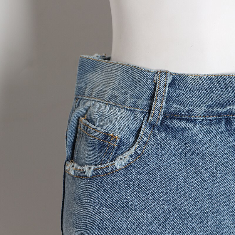 CHICEVER Sexy Patchwork Mesh Denim Short Pants Women High Waist Hollow Out Pocket Korean Casual Shorts Jean 2020 Fashion New