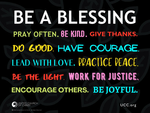 Be a Blessing - Yard Sign
