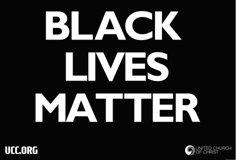 Black Lives Matter - Yard Sign