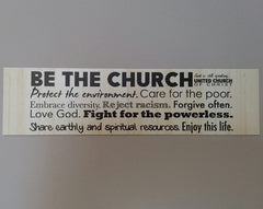 """Be the Church"" Magnet"
