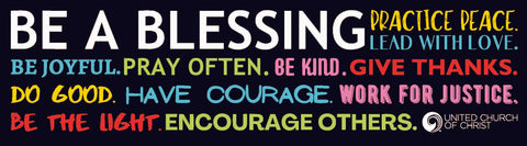 Be a Blessing - Banner