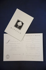 United Church of Christ Baptism Certificates - Pack of 6