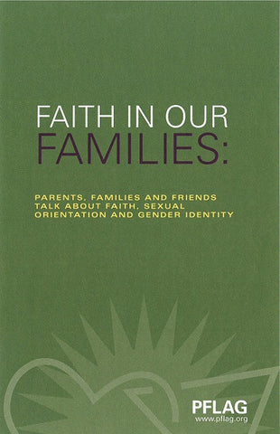 Faith in Our Families | PFLAG Resource (5-Pack)