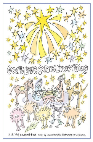 God's Love Colors Everything | A Nativity Coloring Book