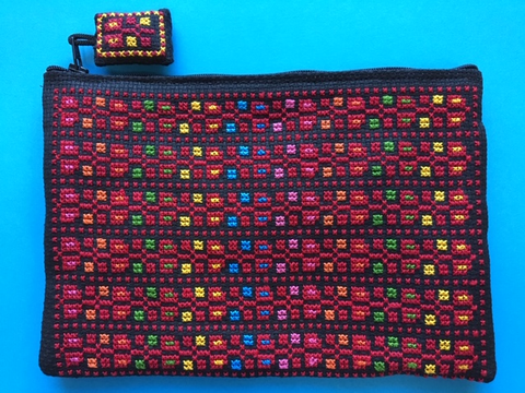 READER COVER - ZIPPER BAG (YWCA-Palestine)