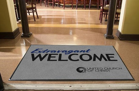 Extravagant Welcome Mat