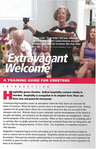 Extravagant Welcome | A Training Guide for Greeters