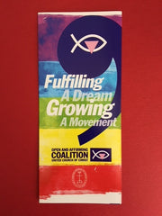 Fulfilling a Dream, Growing a Movement Brochure (Pack of 50)