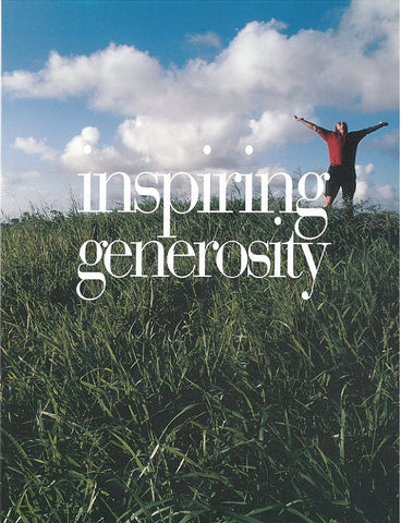 Inspiring Generosity | A Stewardship Resource for the Local Church