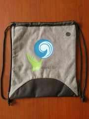 Drawstring Bag - A Just World for All