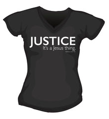 T-Shirt - Justice. It's a Jesus Thing.