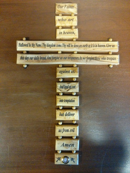 d19a5f817ece3 The Lord's Prayer Cross | UCC Resources