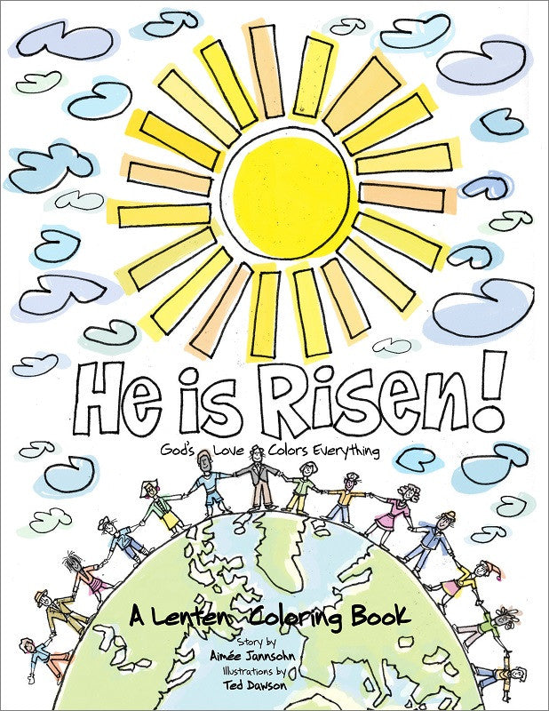 a lenten coloring book