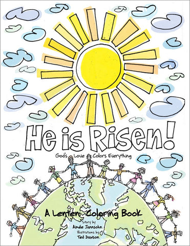 He is Risen! | A Lenten Coloring Book