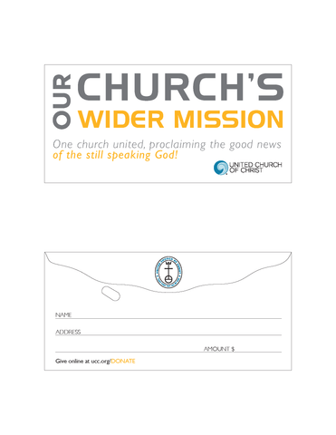 Offering Envelopes - OCWM (Pack of 100)