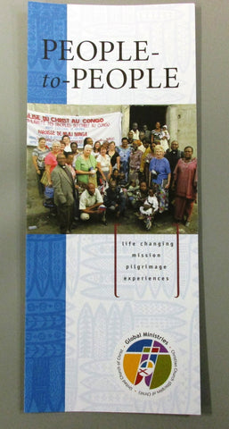 People-to-People | Life Changing Mission Pilgrimage Experiences Brochure