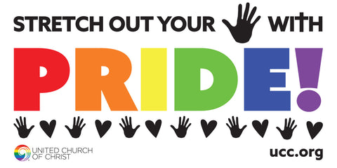 Stretch out your Hand with Pride - Banner (Print Graphic)