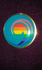 Lapel Pin - New UCC Logo with Rainbow Comma