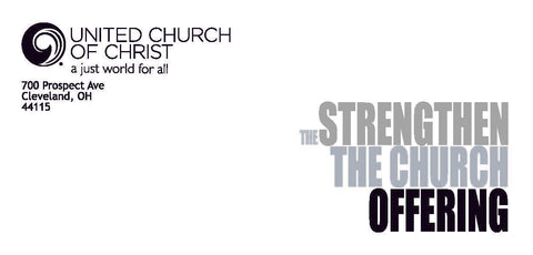 Strengthen the Church Offering 2021