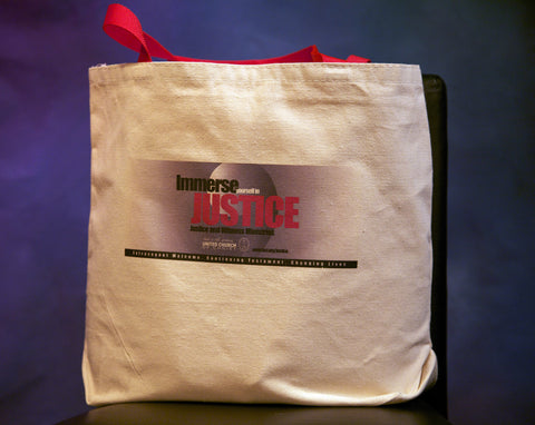Justice & Witness Canvas Bag