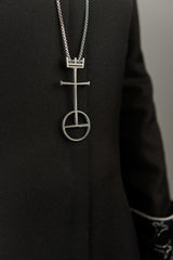 Necklace - UCC Cross / Crown / Orb