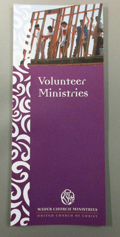 Volunteer Ministries Brochure