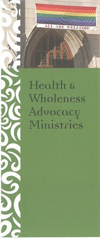 Health and Wholeness Advocacy Brochure