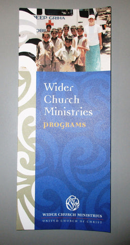 Wider Church Ministries Programs Brochure