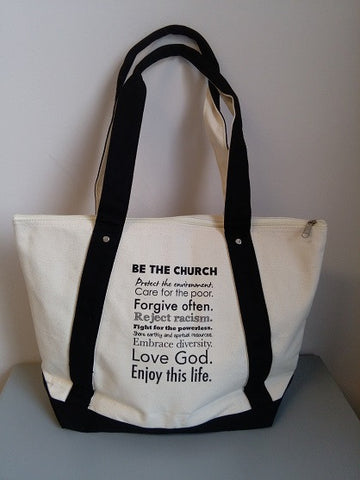 Be the Church Tote Bag