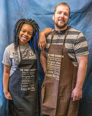 """Be the Church"" Apron"