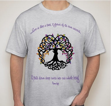 T-Shirt - Tree of life - Open & Affirming Coalition UCC