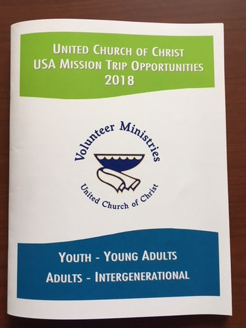 United Church of Christ Mission Trip Opportunities | 2018