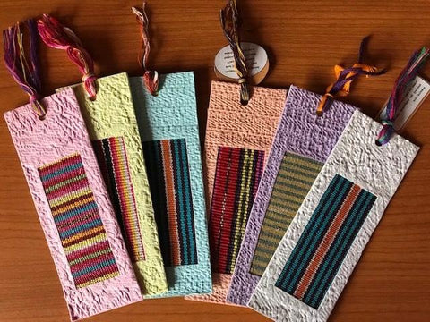 Handmade Bookmarks - PK of 5  (Mixed)