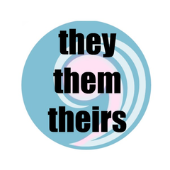 Pronoun Buttons - Pack of 12