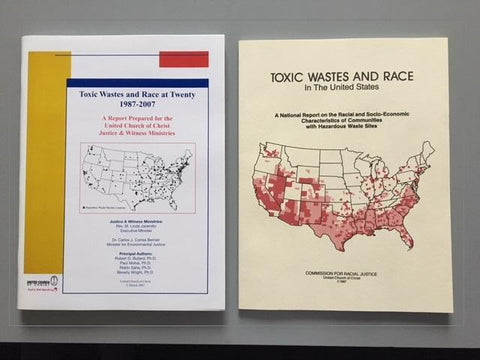 Toxic Wastes and Race in The United States - 2 books