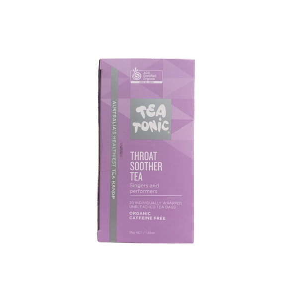Tea Tonic Teabags: Throat Soother