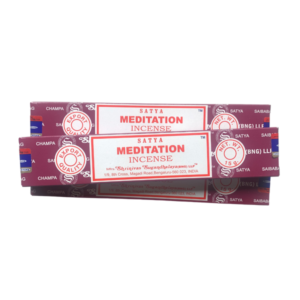 Satya Incense: Meditation