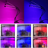 Go2Funlive Led Grow Light Full Spectrum Fitolampy 5V Usb Phyto Lamp With Controller For Greenhouse Vegetable Plant Lighting Fitolamp Three Lights 27W
