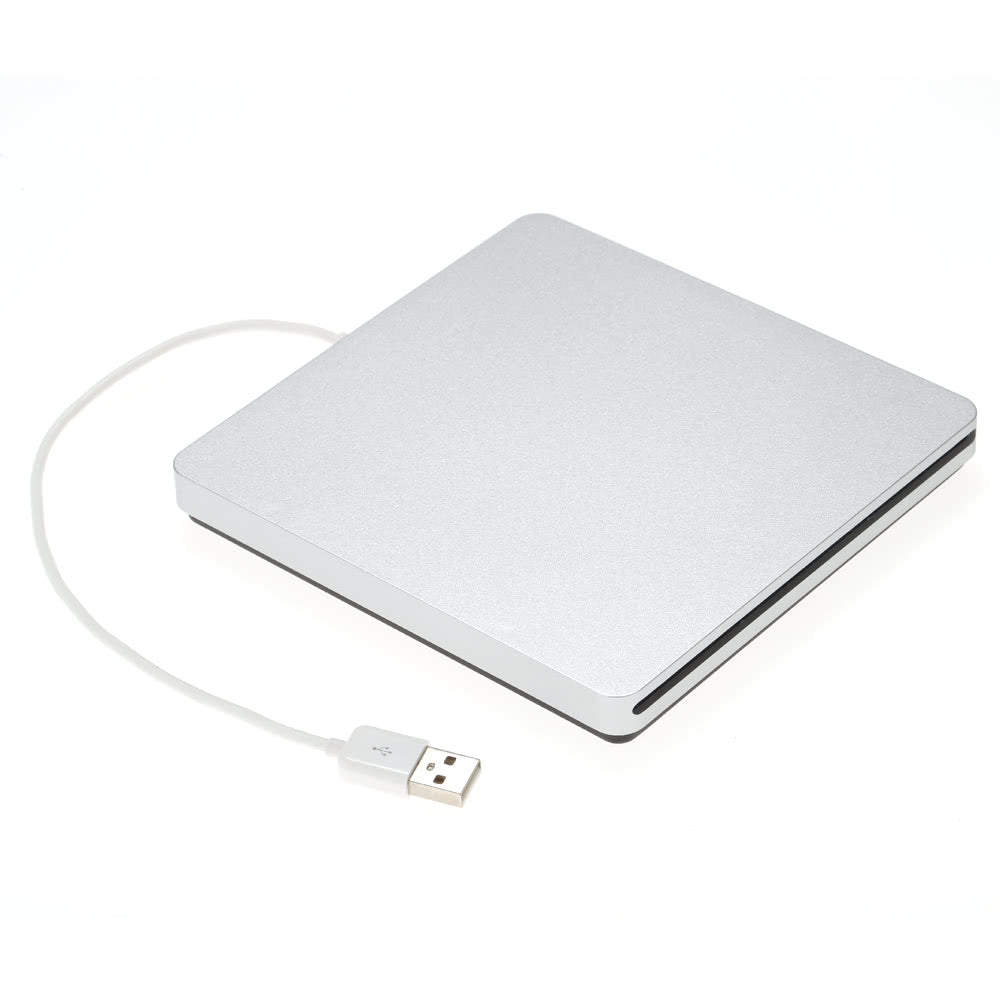 USB 2.0 Portable Ultra Slim External Slot-in CD DVD ROM Player Drive Writer Burner Reader for iMac/MacBook/MacBook Air/Pro Laptop PC Desktop